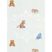 Детские обои Aura Honey Bunny RU8131