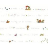 Детские обои Wallquest Animal Crackers FR90506