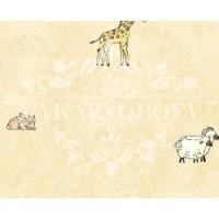Детские обои Wallquest Animal Crackers FR91607